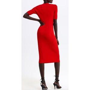 🆕️ Zara Midi Knit Dress
